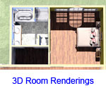 3D Room Renderings Farmington Ranch