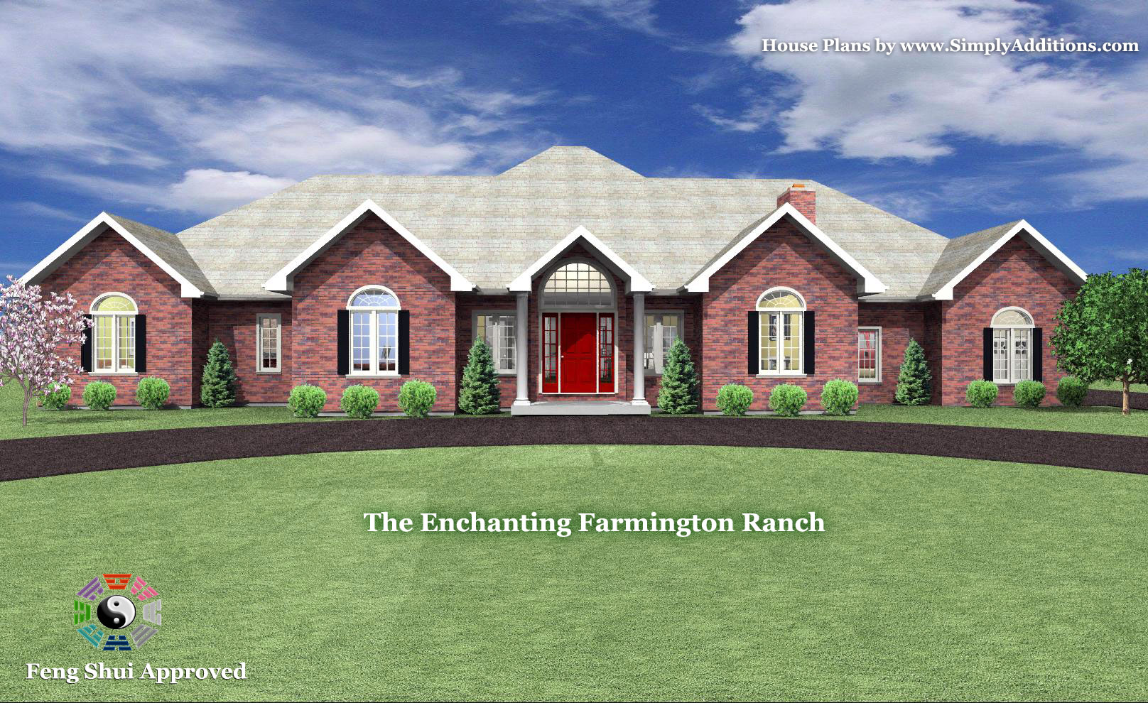 The enchanting farmington ranch house plan for Ranch home addition floor plans