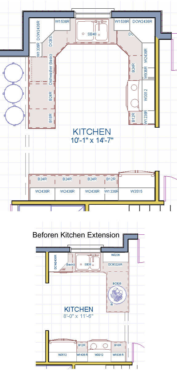 Our Silver Kitchen Extension Package Extensions Simply Additions