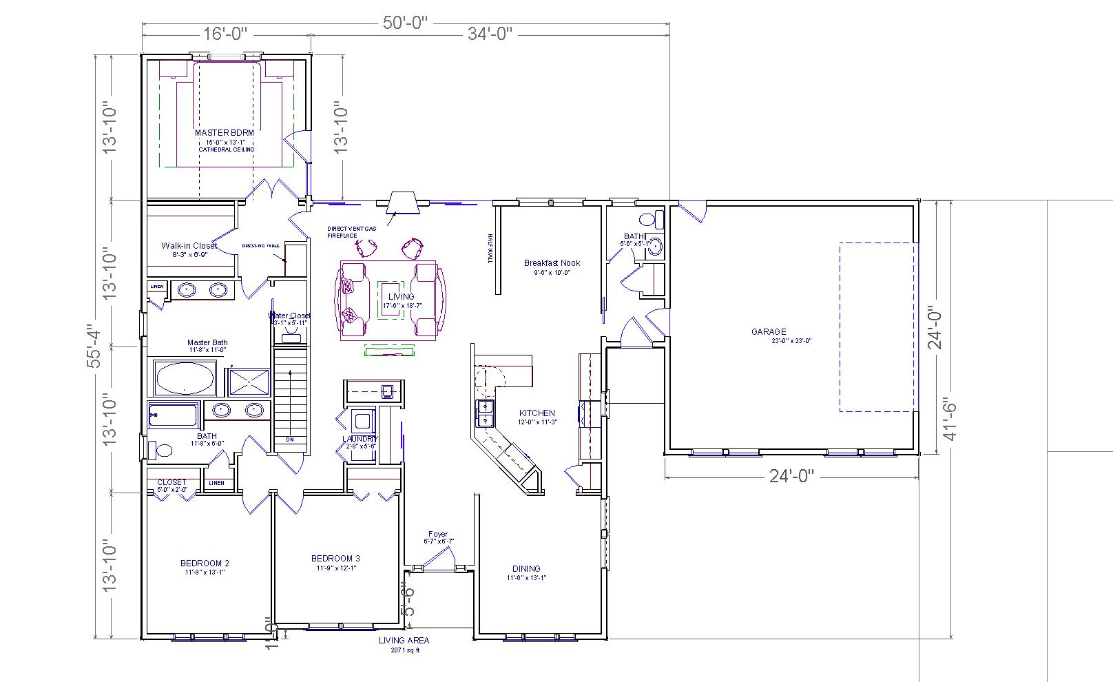 Ranch home addition plans ideas photo gallery house Additions to homes floor plans
