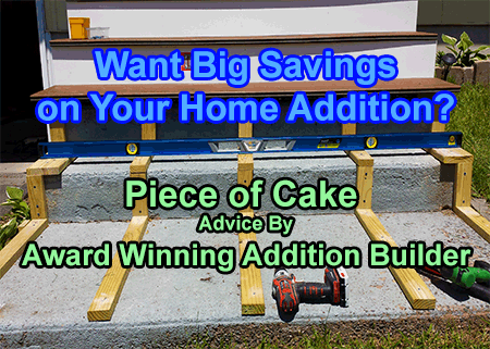 how to save building home additions