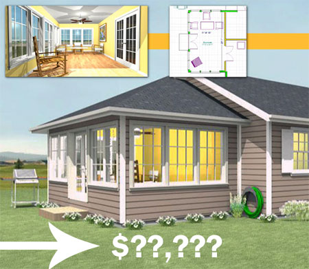 sunroom cost to build