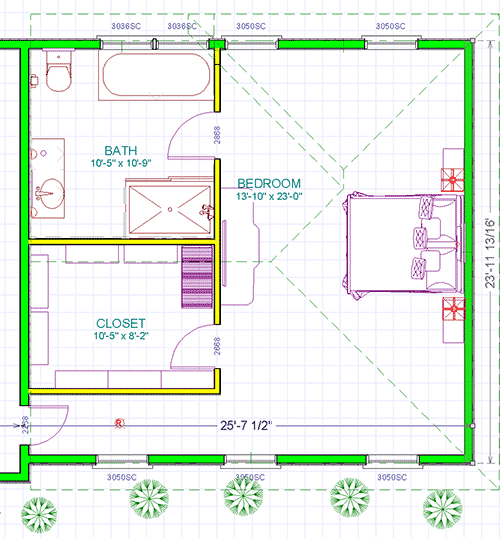 master suite addition floorplan colonial