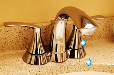 how to fix dripping bathroom faucet