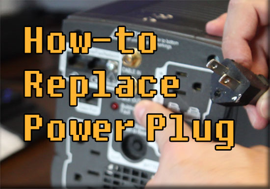 how to replace grounding plug fix APC back ups wiring fault