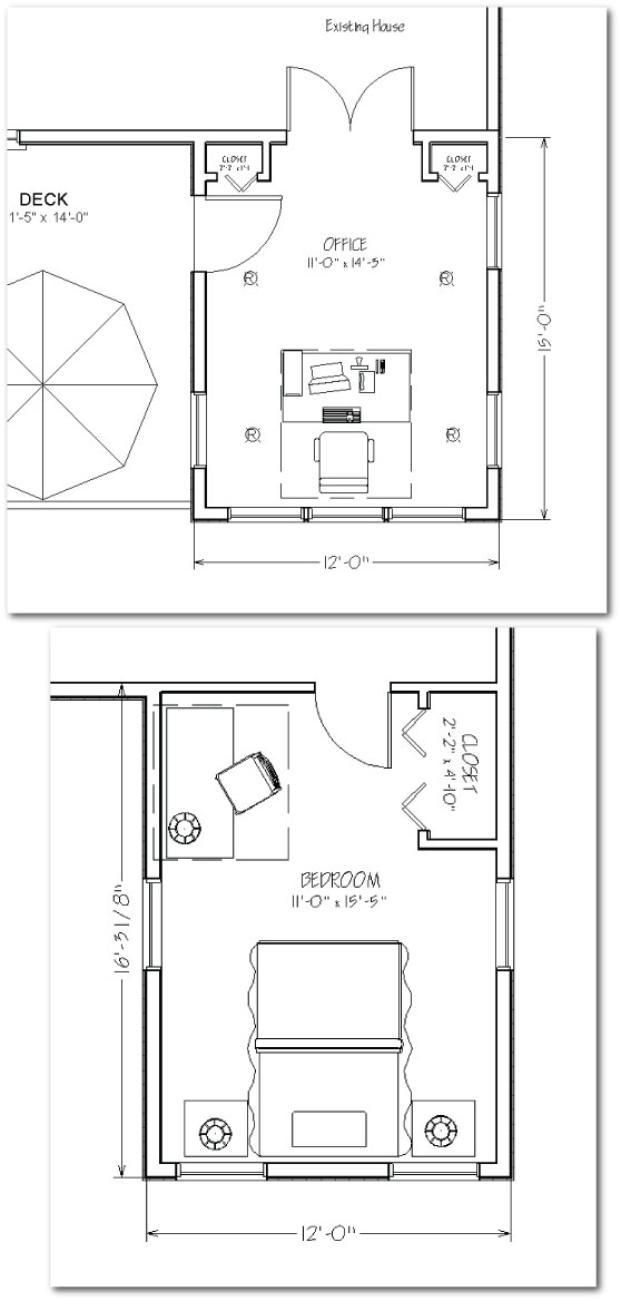Two story house addition plans two story home extension for Addition floor plans