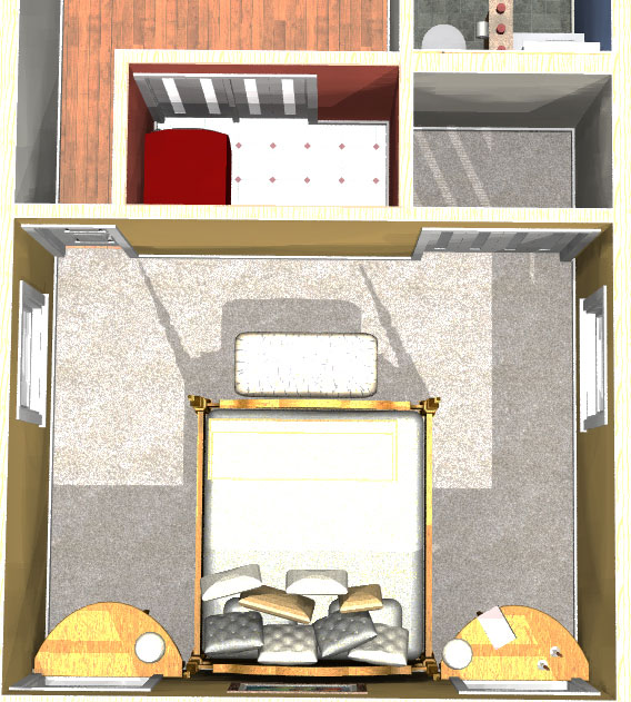 2nd Floor Bedroom Plan