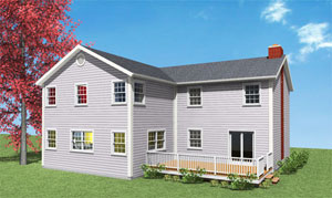 Two Story Extension Addition