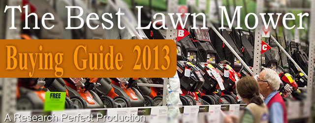 Best Lawn Mower Buying Guide 2013 Consumer Reports