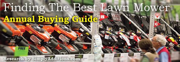 Best Self Propelled Lawn Mower Buying Guide 2015 Consumer Reports