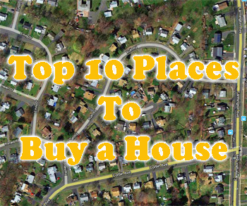 top 10 places to buy a house 2013