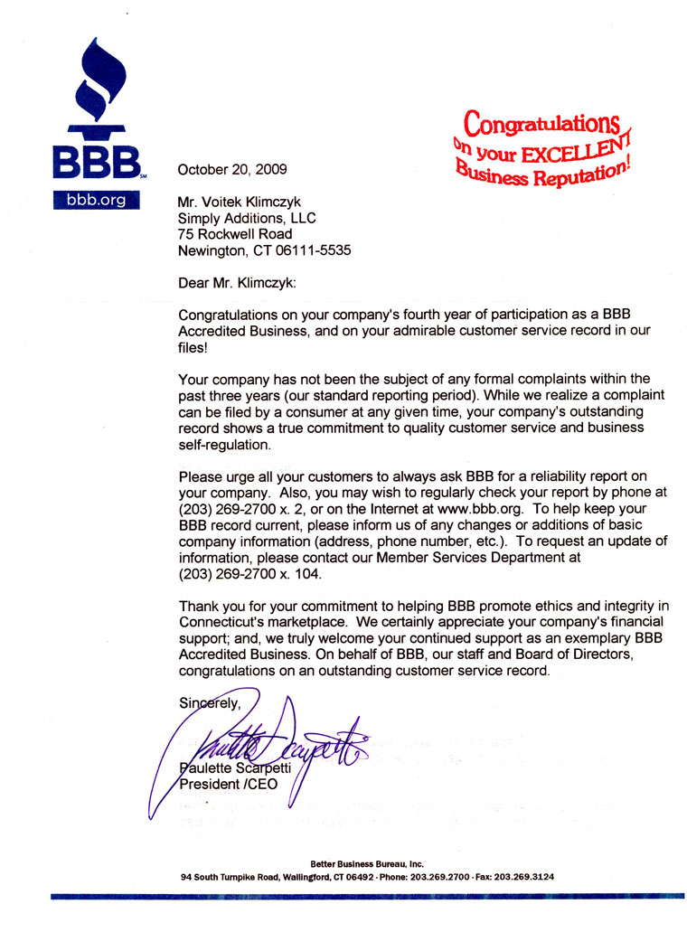Better Business Bureau Scholarship Programs