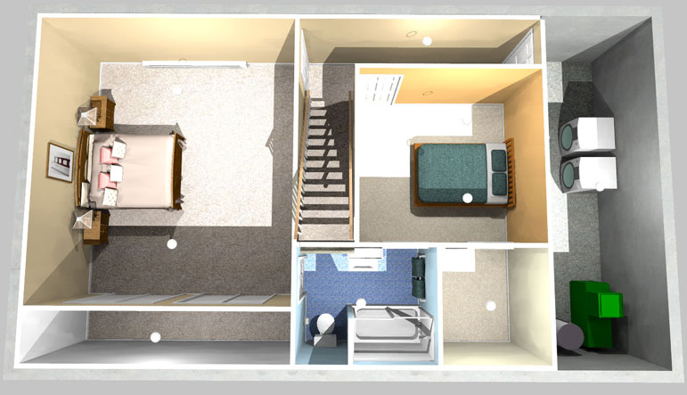 Two Bedrooms One Bath Project Simply Additions