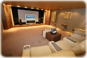 Finished Basement Home Theater Package