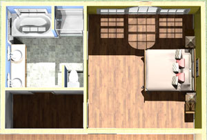 Building a master suite addition