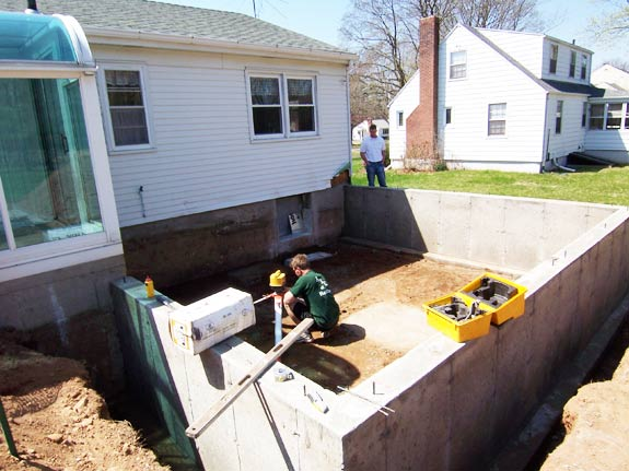 Bedroom addition project for How to build a crawl space foundation for a house