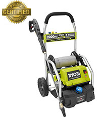 Ryobi RY141900 2000 PSI Electric Power Washer Home Depot