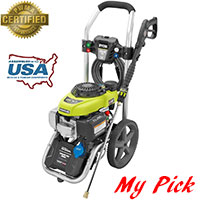 Ryobi RY802800 Electric Pressure Washer Home Depot Best Choice