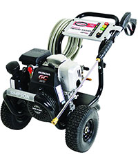 SIMPSON Cleaning MSH3125 S 3200 PSI at 2.5 GPM Gas Pressure Washer Powered by HONDA with OEM Technologies Axial Cam Pump