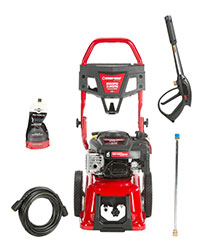 Troy Bilt 2800psi cold water pressure washer LOWES 020676