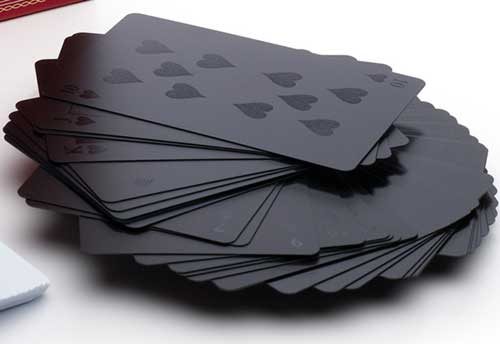 Monochromatic Deck of Playing Cards