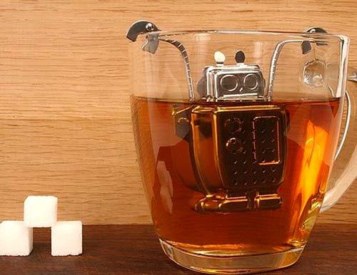 Robot Tea Infuser Man Gift
