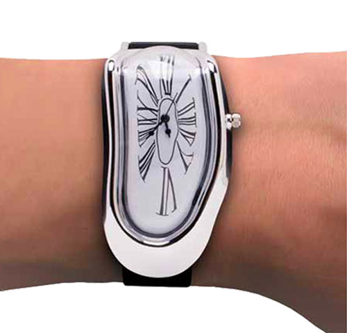 melted watch gag gift for art lovers