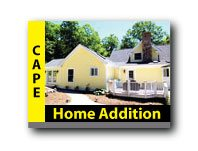 cape addition with sunroom