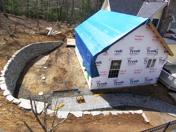 Cape additions make great homes better stories simply for House foundation on slope