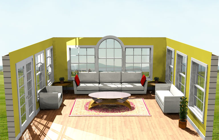 Superb Great Room Addition Ideas Part - 9: 18u0027 By 18u0027 Family Room Addition Plans