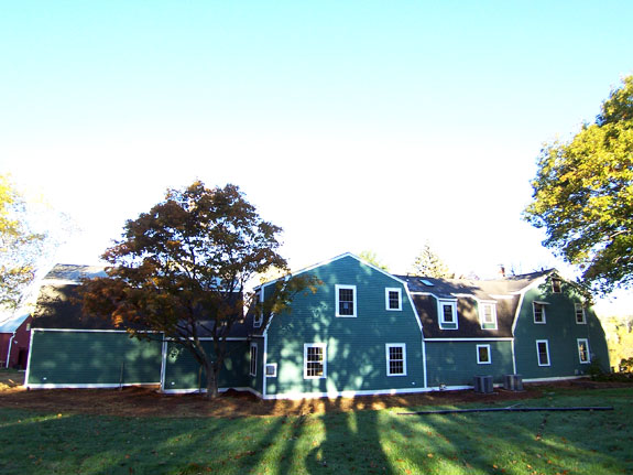 farmhouse addition rear