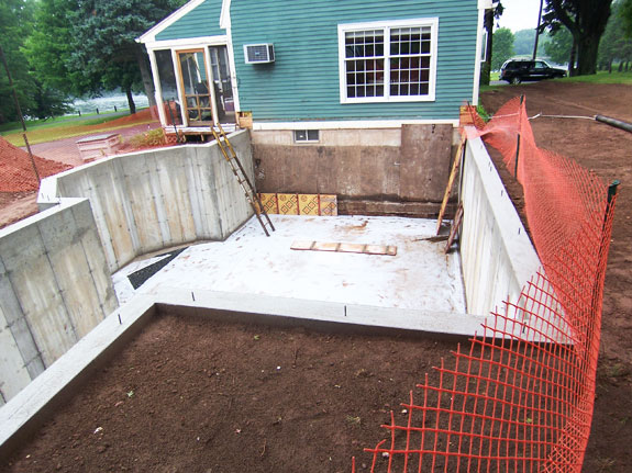 Concrete Foundation has been completed