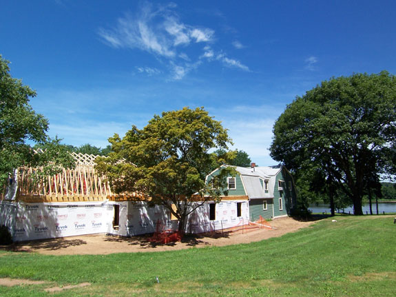 Framing The Farmhouse Addition