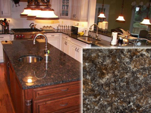 Perfect Tan Brown Kitchen Countertops