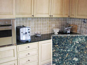 Uba Tuba Inexpensive Granite Countertop