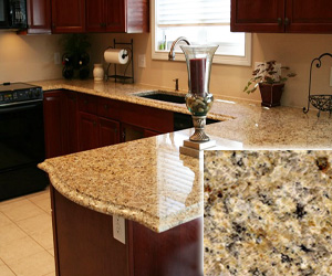 Lovely Venetian Gold Cheap Granite Countertop