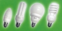 Compact florescent lights (CFL's) save energy