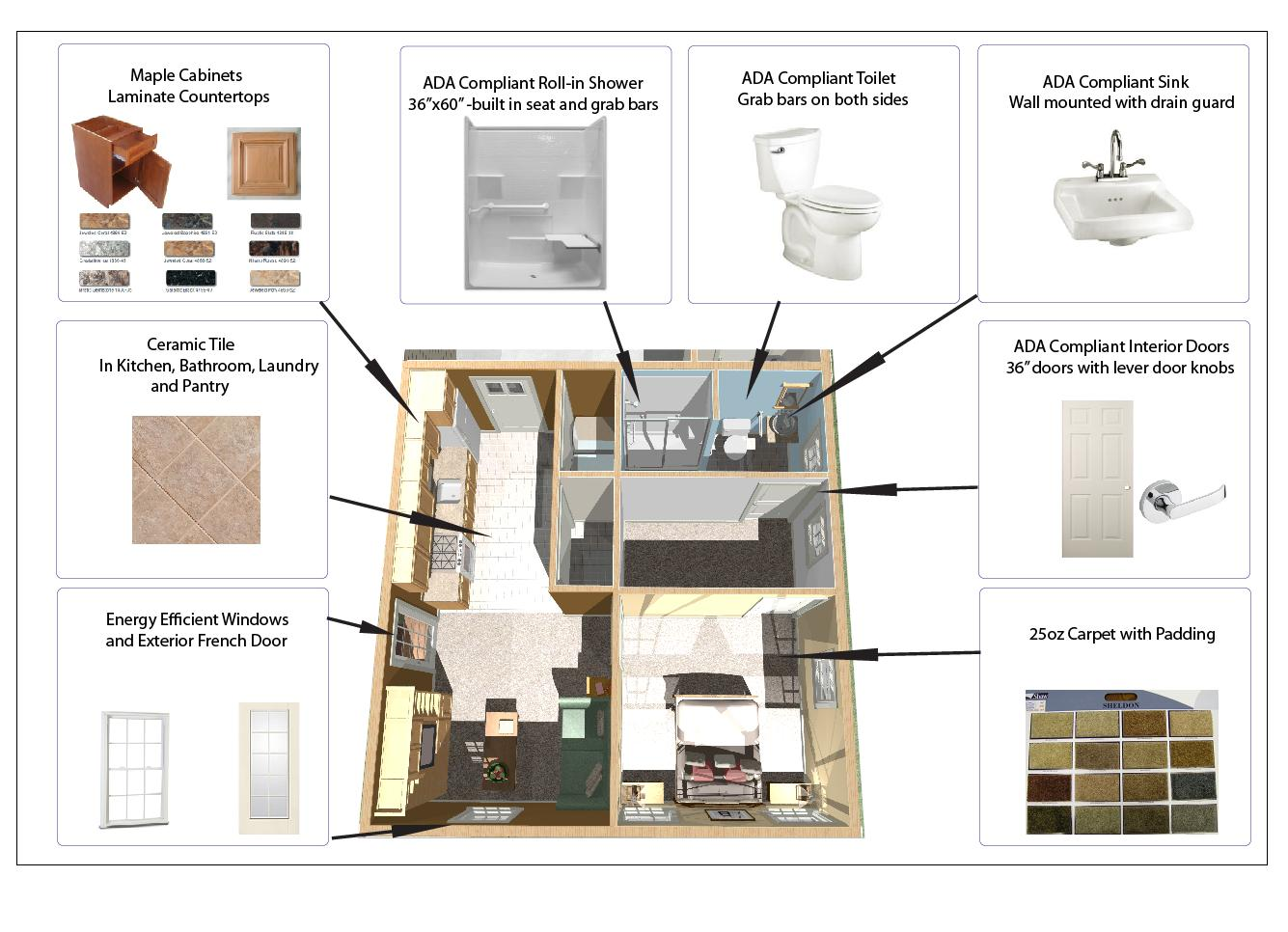 Accessible Design Approved In Law Apartment