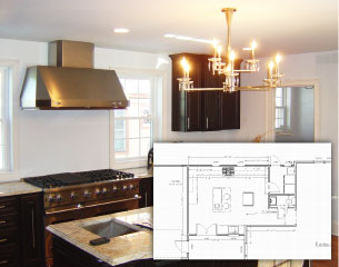 Kitchen Addition Blueprints