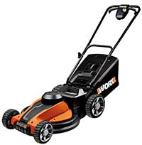 Worx wg787 electric mower