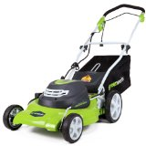 GreenWorks-25022 12-Electric-Lawn-Mower