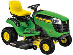 John Deere D125 42 in. 20 HP V Twin Hydrostatic Front Engine Riding Mower