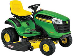 John Deere D140 48 in. 22 HP V Twin Hydrostatic Front Engine Riding Mower