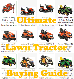 The Ultimate Lawn Tractor Ing Guide