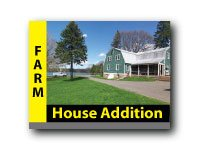 Farmhouse addition story