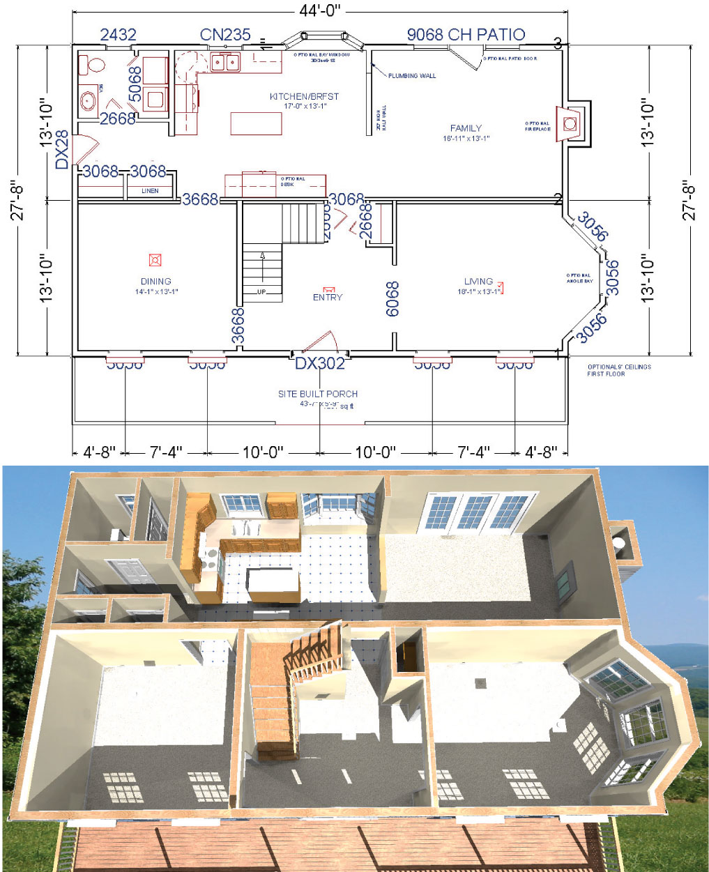 Modular home additions floor plans for Home addition architectural plans