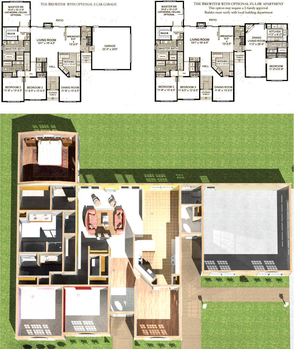 December 2011 Floor Plans – Just Garage Plans