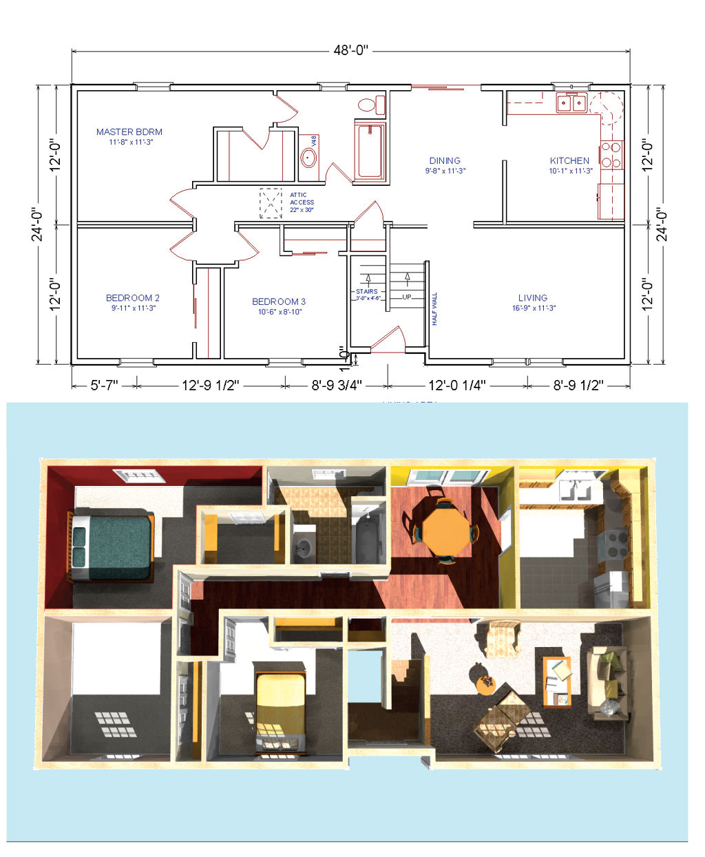 Raised Ranch Floor Plans Find House Plans