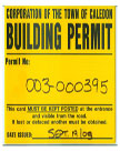 Building Permit for Construction