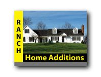 Home addition before after pictures with building costs for Ranch addition cost